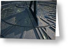 Sundial Lost In Time Greeting Card