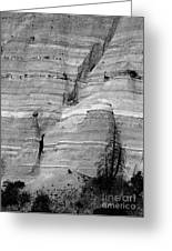 New Mexico - Tent Rocks Greeting Card