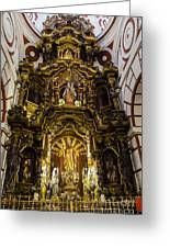 The Monastery Of San Francisco -  Lima Peru Greeting Card