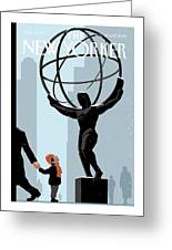 New Yorker December 20th, 2010 Greeting Card