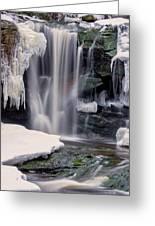 Usa, West Virginia, Blackwater Falls Greeting Card