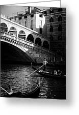 Venetian Cityscape Greeting Card