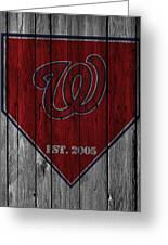 Washington Nationals Greeting Card