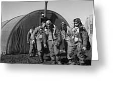Wwii: Tuskegee Airmen, 1945 Greeting Card