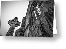 700 Years Of Irish History At Quin Abbey Greeting Card