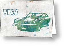 71 Vega Greeting Card