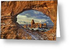 714000087 Turret Arch Arches National Park Greeting Card