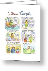 Other People Greeting Card