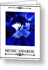 Music Awards Greeting Card