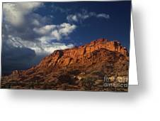 clearing storm waterpocket fold capitol reef NP Greeting Card