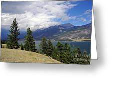 747p Columbia Lake Canada Greeting Card