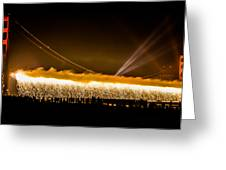 75th Anniversary Of The Golden Gate Bridge  Greeting Card