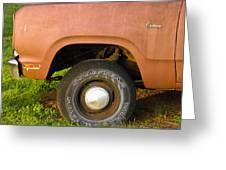 78 Dodge Power Wagon  Greeting Card