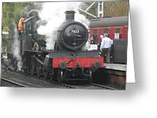 7822 'foxcote Manor' Greeting Card