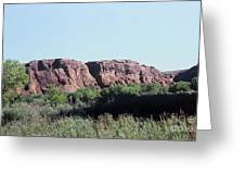 785 Sl  Red Rock Medow Greeting Card