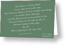 79- Brendon Burchard  Greeting Card