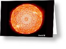 7d Sun Greeting Card