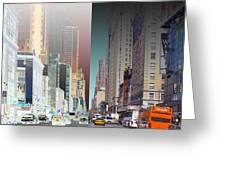 7th Ave North Creative 3 Greeting Card