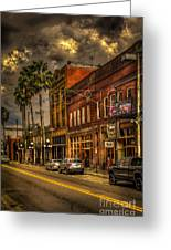 7th Avenue Greeting Card by Marvin Spates