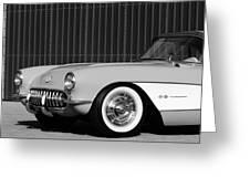 1957 Chevrolet Corvette Greeting Card