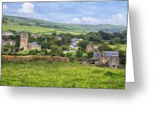 Abbotsbury Greeting Card by Joana Kruse