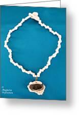 Aphrodite Anadyomene  Necklace Greeting Card
