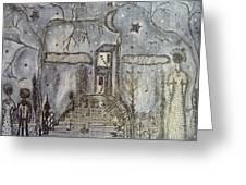 Art Monochrome Greeting Card