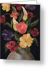 Blooms Of Spring Greeting Card