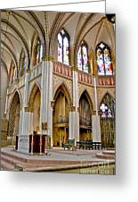 Cathedral Of St. Helena Greeting Card