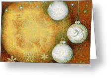 Christmas Background Greeting Card