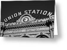 Denver - Union Station Greeting Card