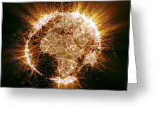 Earths Energy Greeting Card