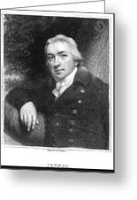 Edward Jenner (1749-1823) Greeting Card
