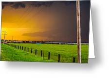 Excellent Severe T-boomers South Central Nebraska Greeting Card