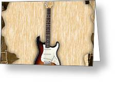 Fender Stratocaster Collection Greeting Card
