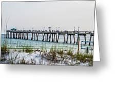 Florida Beach Scene Greeting Card
