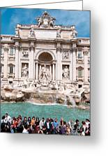 Fontana Di Trevi In Rome Greeting Card