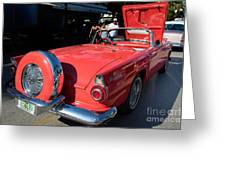 Ford Thunderbird Greeting Card