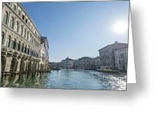 Gran Canal Greeting Card