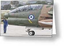 Hellenic Air Force Ta-7 Corsair II Greeting Card