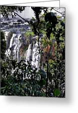 Iguazu Falls - South America Greeting Card