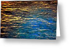 Light On Water Greeting Card