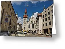 Munich Germany Greeting Card