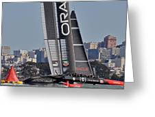 Oracle America's Cup Greeting Card
