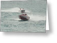 Port Huron Sarnia International Offshore Powerboat Race Greeting Card