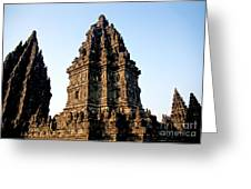 Prambanan Temple In Indonesia Greeting Card