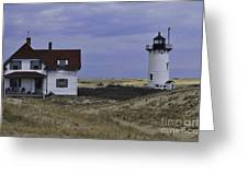 Race Point Light 13 Greeting Card