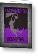 Sacramento Kings Greeting Card