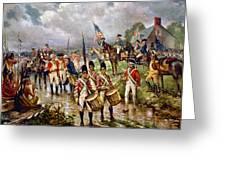 Saratoga: Surrender, 1777 Greeting Card