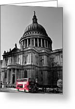 St Paul's Cathedral London Greeting Card